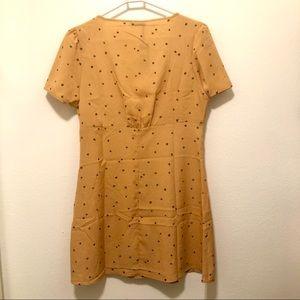 Cotton On Dresses - Cotton On Deep V Puff Sleeve Mini Dress